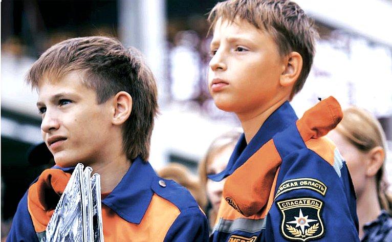 Юные спасатели