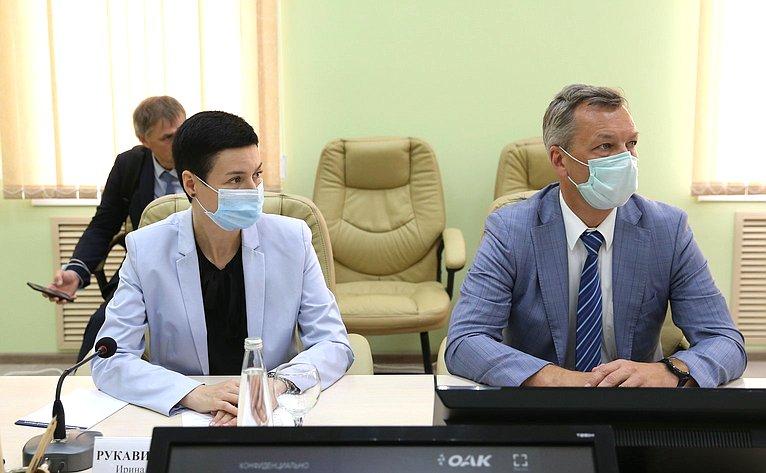 Ирина Рукавишникова иАндрей Яцкин