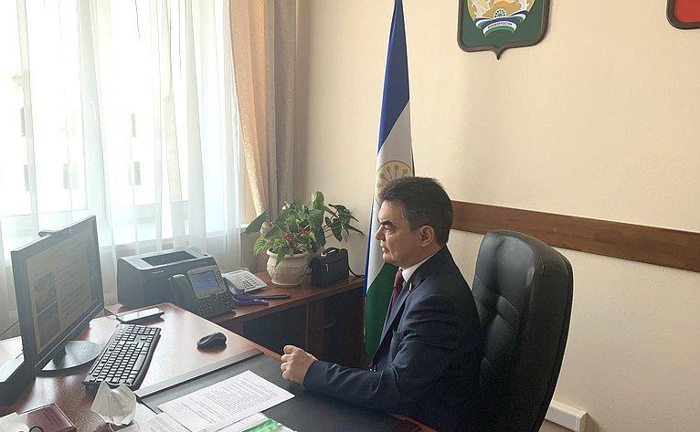И. Ялалов принял участие взаседании президиума Правительства Республики Башкортостан