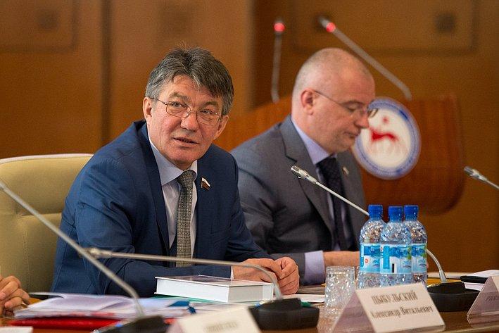 Визит делегации СФ в Якутию Озеров