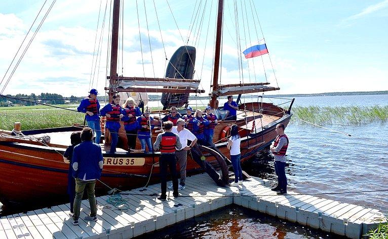 Подготовка кэкспедиции поисторическому Онежско-Беломорскому водному пути