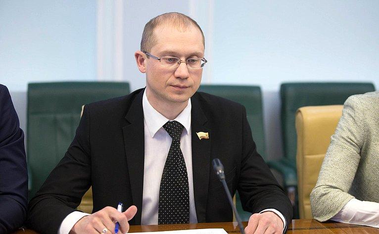 Заседание Совета Палаты молодых законодателей при СФ