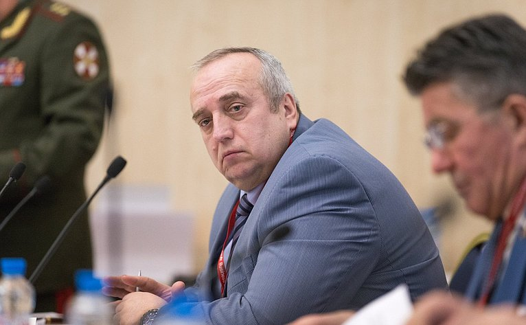 Ф. Клинцевич наоткрытии XXI Международного форума «Технологии безопасности»
