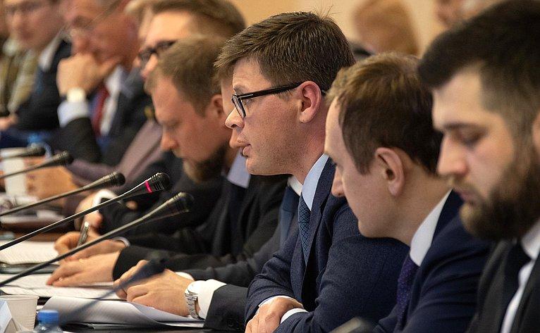 Совещание Комитета СФ поаграрно-продовольственной политике иприродопользованию пообсуждению механизмов иинструментов финансирования национального проекта «Экология»