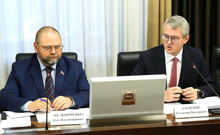Олег Мельниченко иВладимир Солодов