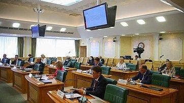 Первое заседание Временной комиссии СФ посохранению иразвитию народных художественных промыслов. Запись трансляции от