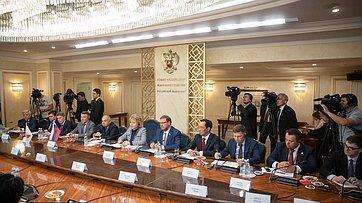 Выступление В.Матвиенко навстрече сяпонскими ироссийскими губернаторами