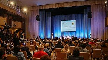 Выступление Председателя СФ Валентины Матвиенко напленарном заседании VIII Парламентского форума «Историко-культурное наследие России»