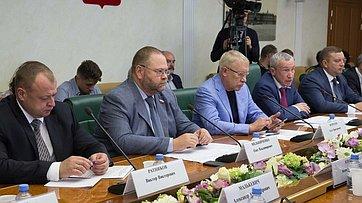 Заседание рабочей группы Временной комиссии СФ позащите государственного суверенитета ипредотвращению вмешательства вовнутренние дела РФ. Запись трансляции от12сентября 2019года
