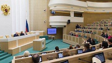 Выступление В. Матвиенко навстрече сактивистами экологического просвещения