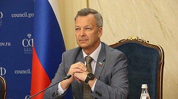 Выступление первого заместителя Председателя СФ Андрея Яцкина назаседании Президиума Совета законодателей РФ