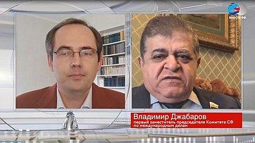 В. Джабаров оситуации ивозможном распаде Украины