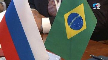 В. Матвиенко надеется напредставительное участие Бразилии всессии МПС вПетербурге