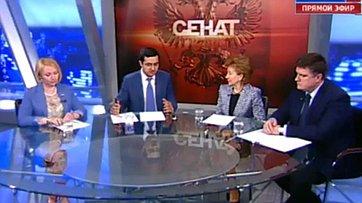 Новации в социальной сфере: что предлагают регионы? Программа «Сенат» телеканала «Россия 24»