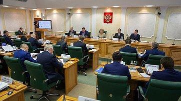 Ежегодное совещание Председателя СФ состатс-секретарями– заместителями руководителей федеральных органов исполнительной власти. Запись трансляции от7декабря 2018года