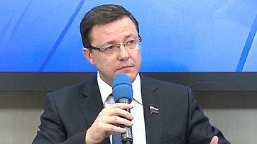 Пресс-конференции «Актуальные задачи развития местного самоуправления» в Международном мультимедийном пресс-центре МИА «Россия сегодня»