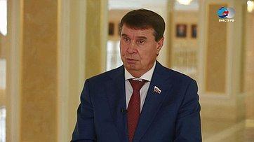 С. Цеков обитогах весенней сессии Совета Федерации