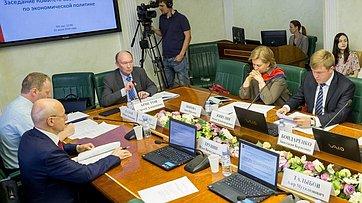 Заседание Комитета СФ поэкономической политике. Запись трансляции от23июля 2018г