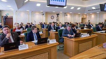 Расширенное заседание Комитета СФ побюджету ифинансовым рынкам Запись трансляции от22 октября 2018г