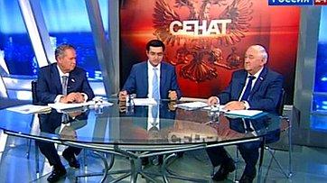 Интеграционное взаимодействие России и Беларуси в законодательной сфере. Программа «Сенат» телеканала «Россия 24»