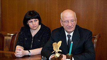 Встреча спикера СФ с руководством Оренбургской области