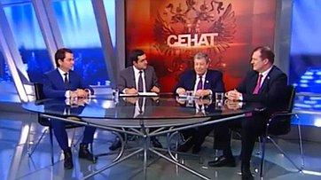 Взносы накапремонт. Программа «Сенат» телеканала «Россия 24»