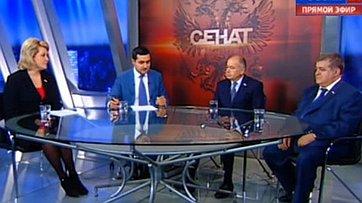 Европа-Россия: Эффективность межпарламентского диалога. Программа «Сенат» телеканала «Россия 24»