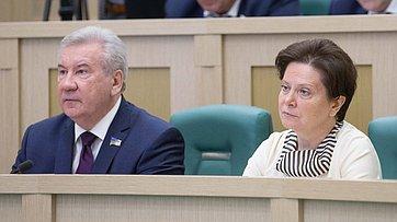 На396-м заседании СФ выступили руководители Ханты-Мансийского автономного округа-Югры