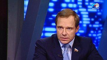 Огуманизации содержания под стражей подозреваемых. Передача «Сенат» телеканала «Россия 24»