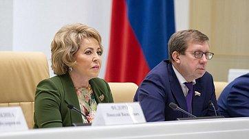 Выступление В. Матвиенко навстрече стружениками социальной сферы села