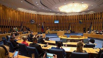 Выступление Председателя СФ вПарламентской ассамблее Боснии иГерцеговины