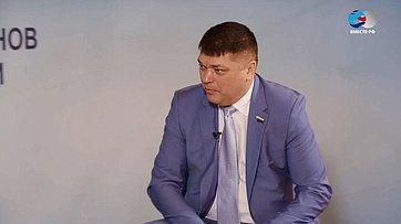 Д. Василенко оVI Форуме регионов России иБеларуси