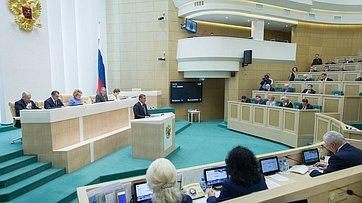 Врамках «Часа субъекта Российской Федерации» вСФ выступил губернатор Тульской области А. Дюмин