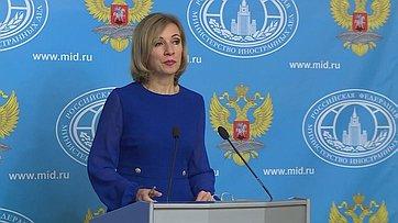 М. Захарова: Принятие заявки Санкт-Петербурга— победа парламентской дипломатии
