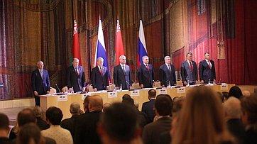 Парламентарии РФ иРБ приняли проект бюджета Союзного государства