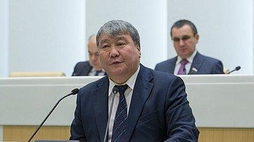 Выступление председателя Ил Тумэна Якутии А.Жиркова