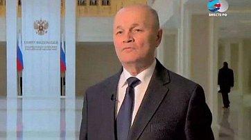 Член Совета Федерации от Алтайского края М. Щетинин о своих планах на новом посту