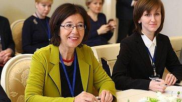 В. Матвиенко провела встречу сПредседателем Парламентской Ассамблеи ОБСЕ (ПА ОБСЕ) К.Муттонен