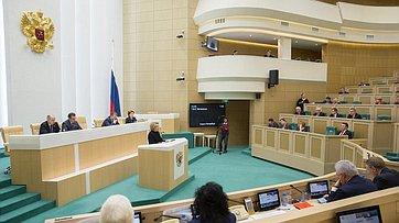 В. Матвиенко подвела итоги осенней сессии 2017года