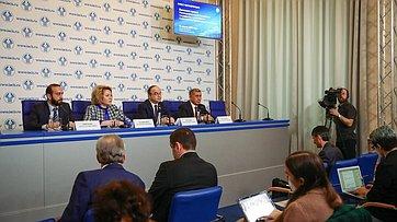 Пресс-конференция поитогам 49-го пленарного заседания МПА СНГ. Запись трансляции от19апреля 2019года