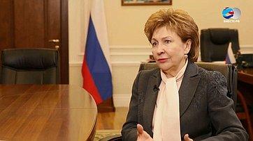 Г. Карелова обитогах заседания Совета порегиональному здравоохранению