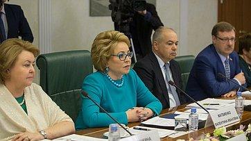 Выступление В. Матвиенко насовещании повопросу подготовки ипроведения IV Международного Ливадийского форума