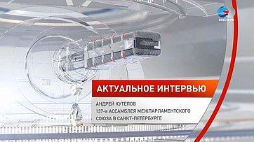 Андрей Кутепов обосновных темах 137-й Ассамблеи МПС вСанкт-Петербурге