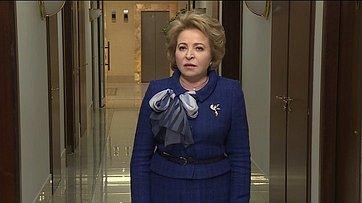 В. Матвиенко опринятом Радой Украины законе ореинтеграции Донбасса