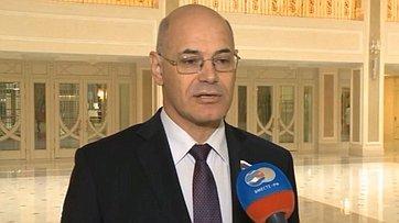 В.Круглый: Послание Президента - важнейшее событие для нашей страны
