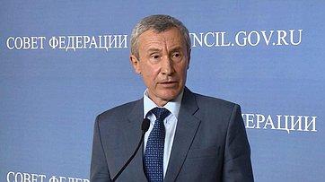 А. Климов оработе Временной комиссии СФ позащите государственного суверенитета