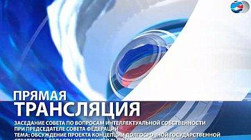 В Совете Федерации состоялось Заседание Совета по вопросам интеллектуальной собственности