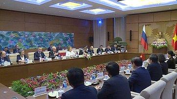 Встреча В.Матвиенко спредседателем Национального собрания Вьетнама Нгуен Тхи Ким Нган