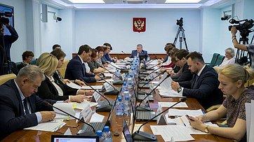 Расширенное заседание Комитета СФ посоциальной политике. Запись трансляции 27июня 2017г