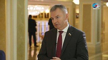 И. Каграманян оVI Межпарламентском форуме «Россия иТаджикистан: потенциал межрегионального сотрудничества»